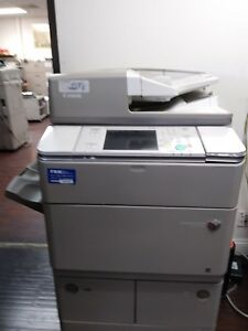 Canon Imagerunner Advance 6255 Printer Copier Scanner B w Mfp Low Meter