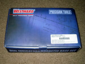 Westward Dial Indicator And Magnetic Base Set 4ku71 new