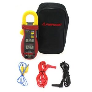 Amprobe Acd 14 Plus Dual Display Clamp on Multimeter With Temp new