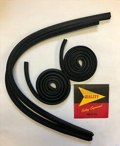 1960 1961 1962 1963 1964 Chrysler Desoto Dodge 880 Convertible Roof Rail Rubber