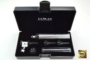 Taxxan Otoscope Ent Diagnostic Set With Metal Adapter To Use Disposable Speculum