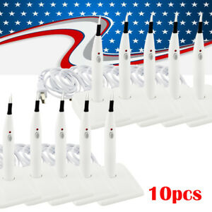 10x Dental Gutta Percha Tooth Gum Cutter Endo Cutter Cutting Machine 4 Tips Ce