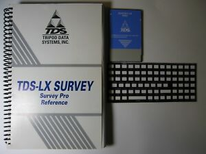 Tds Lx Survey Pro Card With Reference Manual For The Hp 200lx Palmtop