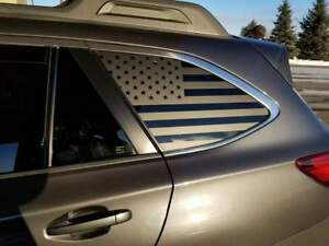Subaru Outback American Flag Decals Stickers Vinyl Accessories Subie 09 18