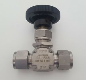 Whitey Swagelok New Needle Valve 1 2 In Ss 1rs8