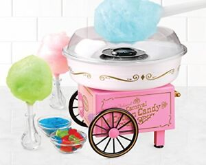 Cotton Candy Maker Vintage Hard Sugar free Counter Top Clear Rim Guard Summer