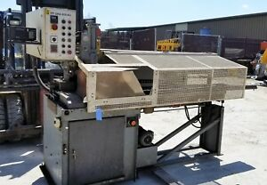 Fully Automatic Kasto gks 400 Au 1200 High Precision 16 Cold Saw W auto feed