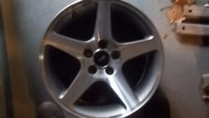 Wheel 17x9 Cobra Supercharged 5 Spoke Machined Face Fits 03 04 Mustang 796725