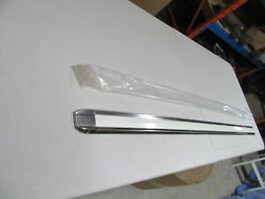 1964 Fairlane 500 4 Door Left Quarter Molding Nos 54b Town Sedan White Insert