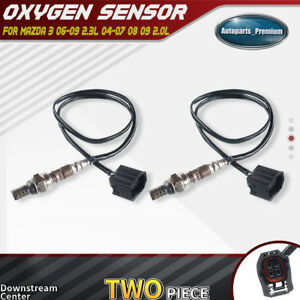 2x Downstream Center Oxygen Sensor For Mazda 3 2004 09 2 0l 06 09 2 3l Calif Esv