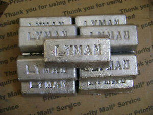 10 Pounds clean soft Lead Ingots for Casting Molding Jigs Sinkers fishing crafts