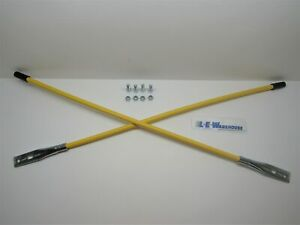 1 Pr 28 Yellow Snowplow Guide Sticks New Style Replaces Meyer 09917