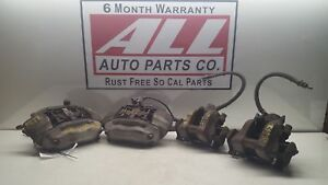 03 04 05 06 Mercedes Sclass S430 220 Type Set Of 4 Brake Calipers Front And Rear