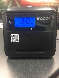 Pyramid Time Systems 5000 Time Clock Automatic Black