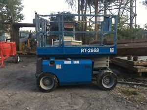 Genie 2668rt Scissor Lift Jlg Scissorlift