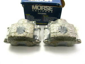 Morse P4122 Remanufactured Loaded Disc Brake Calipers Front Left Right