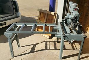 Barely Used Delta 12 Inch Radial Arm Saw 2hp 3 Phase 200 230 460v Model 33 892