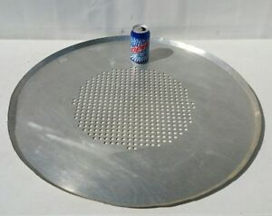 Jumbo Large 29 Inch Commercial Use Restaurant Aluminum Pizza Baking Tray pan