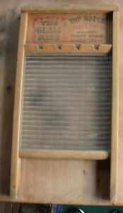 Vintage National Washboard Co Model 860 The Glass King Collectable