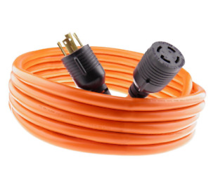 30 Amp Generator Cord 20 Ft Generator Power Cord Cable Generator Extension Cord