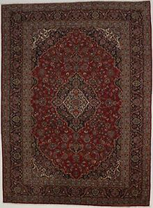 Vintage Classic Design 10x13 Large Persian Rug Wool Oriental Home D Cor Carpet