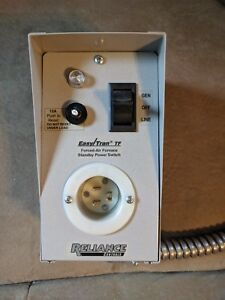 Reliance Controls Tf15w Easy tran Furnace Transfer Switch