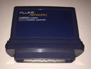 Fluke Networks Omniscanner Cat 6 Channel Lan Adapter Pn 2950 4018 01