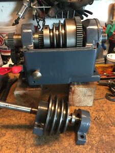 Logan Lathe Headstock Completely Restored All New Bearings And Oilite Bushings