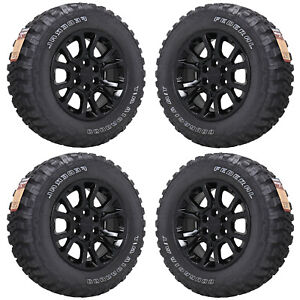 18 Gmc Sierra Yukon 1500 Truck Black Wheels Rims Tires Factory Oem Set 5649