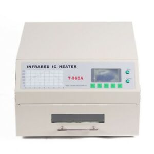T962a Reflow Oven 300x320mm Infrared Ic Heater Pcb Board Soldering Station
