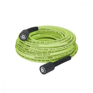 Flexzilla Pressure Washer Hose With M22 Fittings 1 4 In X 50 Ft