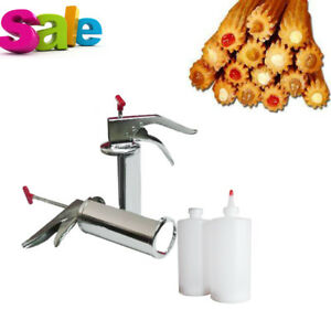 1l Stainless Steel Manual Spanish Donuts Churrera Churros Filler Filling Device