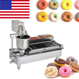 Commercial Electric Automatic Doughnut Donut Machine Donut Maker 3thickness 110v