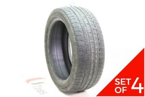 Set Of 4 Used 225 45r17 Goodyear Eagle Sport As 94w 6 32