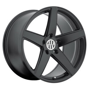 Victor Equipment Baden 18x10 5x130 Offset 50 Matte Black Qty Of 1