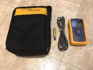 Fluke Networks Linkrunner Pro Cable Tester Wireview Wiremapper Cord And Case