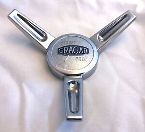 Cragar Chrome Wheel Center Cap qty 1