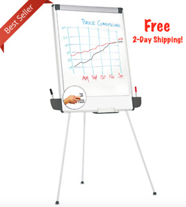 Tripod Dry Erase Easel Board For Teachers Presentations Whiteboard Stand Durable