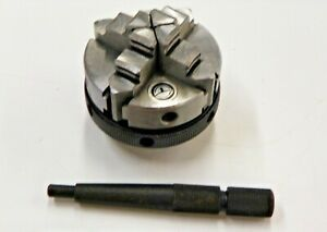 2 4 Jaw Self Centering Lathe Chuck With M14 1 Mount L081