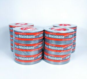 12 Rolls Silver Duct Tape Half Case 1 88 X 54 Yd 8 Mil Thick Free Priority