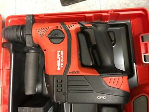 Hilti Te 6 a36 Cordless Rotary Hammer Drill Charger 2x Batteries Included
