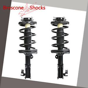 For 2000 2001 2002 2003 Mazda Protege Front Pair Complete Shocks