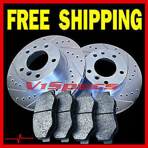 Fits Nissan Nx Coupe 1 6l Front 91 92 93 Rotors Ceramic Pads Front