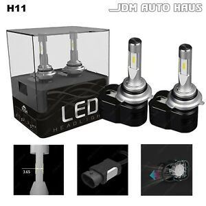 Xenon White 6000k H11 60w Low Beam Headlight Led Lights Bulb Conversion Kit