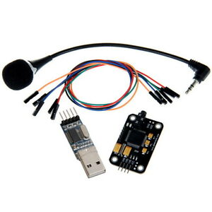 Geeetech Voice Recognition Microphone Usb To Rs232 Ttl Module Kit