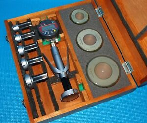 Mitutoyo Digital Holtest 0 8 To 2 0 Bore Gage Set Borematic Digimatic Tested