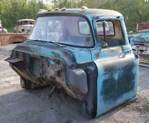 1955 1959 Chevy Chevrolet Pickup Truck Cab And Doors Shipping Included