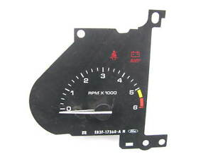 New Out Of Box Oem Ford E83f 17360 a 6 000 Redline Tachometer