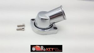 Ls Polished Aluminum 45 Swivel Water Neck Thermostat Housing 4 8 5 3 6 0 Ls1 Ls2