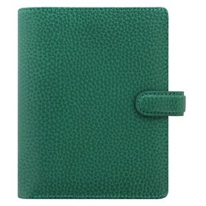 Filofax Pocket Finsbury Leather Organizer planner Forest Green 025448 Brand New